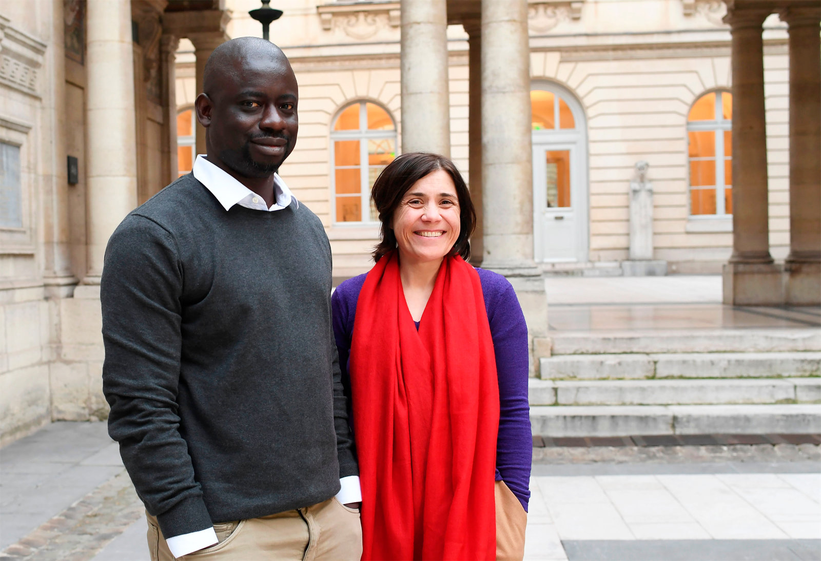 Felwine Sarr und Bénédicte Savoy
